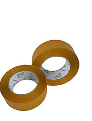 Transparent Adhesive Tape 4.5Cm*2.5Cm Transparent Sealing Tape Packing Tape Warning Language Tape A Box of 42