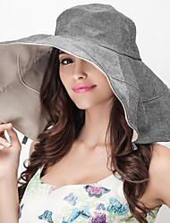 Unisex Sombrero para el sol Bonito / Casual-Primavera / Verano / Otoño-Algodón