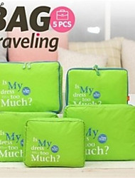 Travel Five Pieces Of Clothing Storage Bag Five Sets Of Travel Necessary Storage Bag