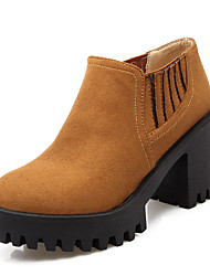 Women's Boots Spring / Fall / Winter Heels / Platform / Fashion Boots / Bootie Leatherette  / Casual Chunky Heel