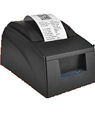 capacidad de 57 * 60mm modelo de impresora de recibos USB dc12v 3a pos58mm caja registradora 5890g-u 203 ppp