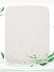 Others Eponges Naturelles 1 Carré 10*8*1.7cm Normal Blanc