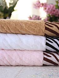 100%бамбуковое волокно-34*75-Жаккард-Полотенца для мытья