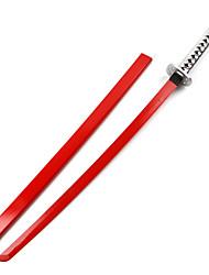 Waffen / Schwert Inspiriert von Cosplay Cosplay Anime Cosplay Accessoires Schwert Rot Holz Mann