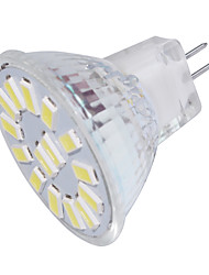 4 GU4(MR11) Spot LED MR11 15 SMD 5733 350 lm Blanc Chaud / Blanc Froid Décorative 9-30 V 1 pièce