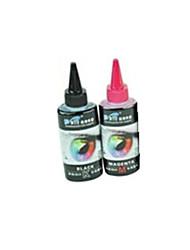 epson t50 imprimante compatible r230 R270 1390 ciss encres un pack comprend deux bouteilles (100mlred encre et de 100mlblack)