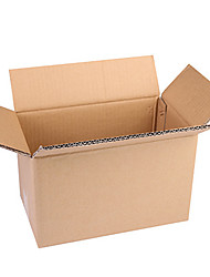 carton matériau service de couleur en bois brun équipement trois d'un paquet