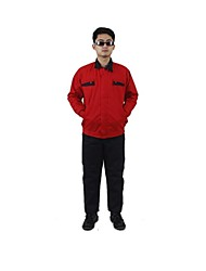 Outdoor Construction Automotive Repair Tooling Protective Clothing Protective Overalls (Sale Red, 180)