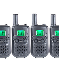 PMR Handheld Walkie Talkie for Kids Playing in Garden Super Market Traveling Outside With Hands Free 38CTCSS Up to 6KM