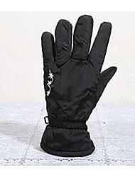 guantes cálidos guantes de moto impermeable al aire libre del desgaste respirable a prueba de viento