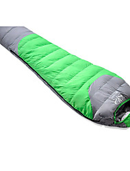 Sleeping Bag Mummy Bag Single -10 Duck Down 1500g 210X80 Hiking / Camping KEEP WARM