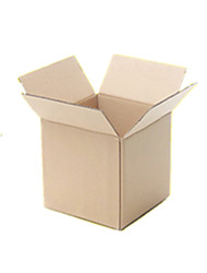 Yellow Color Other Material Packaging & Shipping 15*15*15cm Packing Boxes A Pack of Nine