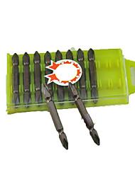 ph2 # tournevis cruciforme tête bande magnétique vent de lot 65mm un paquet de 10 (un pack de 5)