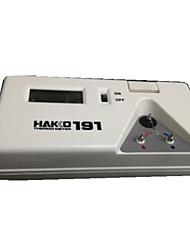 tester temperatura de solda (9v bateria; faixa de temperatura: 0-600 ℃)