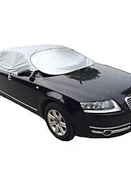 швейная машина алюминий Зонт Зонт СПФ изоляция покрытия прохладное лето шпиля половина крышки автомобиля