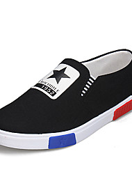 Men's Fashion Loafers & Slip-Ons Casual/Travel/Youth Breathable Canvas Board Shoes