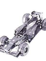 Puzzles Action Figur Bausteine DIY Spielzeug Panzer 1 Metall Silber Model & Building Toy