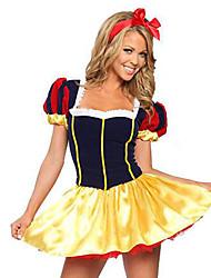 Costumes Princess Series Costumes Halloween / Christmas / Carnival Red / Yellow Vintage Snow Princess  Dress