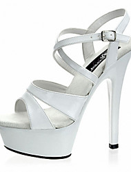 Ms. 15CM sexy fine with sandals / Summer / Fall Heels / Sandals / Wedding / Party & Evening Stiletto Heel  /Catwalk