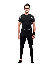 Men's Sleeveless Running Clothing Suits Quick Dry Breathable Compression Spring Summer Winter Fall/Autumn Sports Wear Yoga Running Chinlon