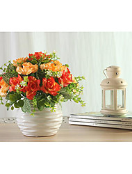 Polyester Wedding Decorations-1Piece/Set Artificial Flower New Year / Wedding Rustic Theme