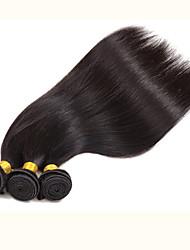 "cabelo virgem brasileiro do cabelo humano reto 20 24 ""polegadas 3pcs / lot cabelo brasileiro barato"" 22 """