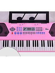 Educational Toy Plastic Pink Puzzle Toy Music Toy