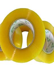 de alta qualidade boa fé embalagem fita de embalagem de fita adesiva transparente largura 5,0 cm 2,5 cm aglutinador de carne de espessura