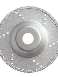 алмазная резка листа; (внешний диаметр: 100 мм, внутренний диаметр 16 мм; зернистость: 60)