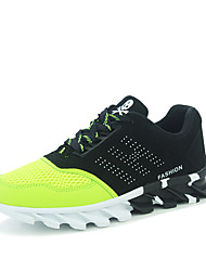 Men's Shoes Athletic Fabric Fashion Sneakers Black