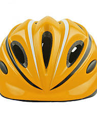 Sportif Enfant Vélo Casque 12 Aération Cyclisme Cyclisme Cyclotourisme Patin à glace M: 55-58CM S: 52-55CM Polycarbonate EPSJaune Rouge