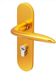 Dorlink® Contemporary Alumnium Keyed Entry Door Lock Golden