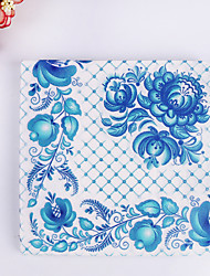 100% virgin pulp 20pcs Blue Wedding Napkins