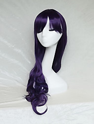 Cosplay Wig  Purple Color Cast Long Curly Hair Wig 30Inch Points
