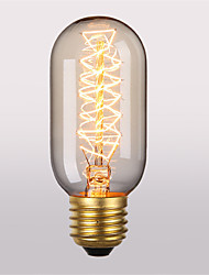 T45 E27 40W Incandescent Light Bulbs Antique Vintage Retro Edison Light Bulbs(220-240V)