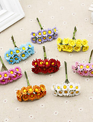 1 1 Ramo Poliéster / Toque real Outras Flor de Mesa Flores artificiais 3.9inch/10cm