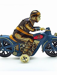The Motorcycle Wind-up Toy Leisure Hobby Metal Yellow For Kids