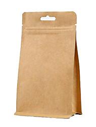 impression noix auto-proclamé l'indépendance de loisirs emballage papier kraft alimentaire sacs personnalisés un paquet de dix thé