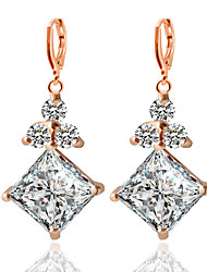 Alloy/Zircon Earring  Drop Earrings Wedding/Party/Daily / Casual 1 pair