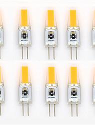 6W G4 LED à Double Broches T 1 COB 400-500 lm Blanc Chaud / Blanc Froid / Blanc Naturel Etanches / Décorative AC 110-130 / AC 100-240 V10