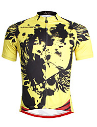 PALADIN® Cycling Jersey Men's Short Sleeve BikeBreathable / Quick Dry / Ultraviolet Resistant / Back Pocket / Reduces Chafing /