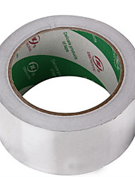 60U Anti-Electromagnetic Radiation Waterproof Insulation Width 48Mm Long 25M Silver Foil Tape