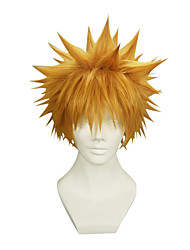 Cosplay Wigs Cosplay Cosplay Short Straight Anime Cosplay Wigs 22 CM Synthetic Fiber