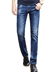Men's Solid Casual Suits,Cotton Blue CY302