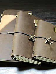 Head Layer Cowhide Pure Manual Travelers Notebook