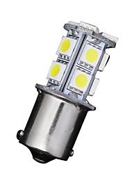 10 x blanc 1,156 Ba15s 13-SMD 5050 conduit ampoules tournent sauvegarde de signal inverse 12v