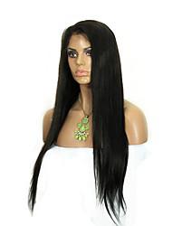 evawigs 10-26 дюймов человеческого парики 10a класса прямых бразильских виргинских волос фронта шнурка для женщин моды