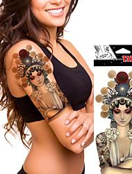 5 Временные тату Прочее Non Toxic WaterproofЖенский Мужской Взрослый Подростки Вспышка татуировки Временные татуировки
