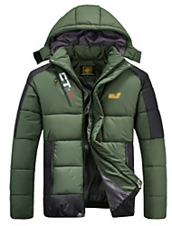 Ski Wear Men's Winter Wear Fleece Winter Clothing Waterproof / Thermal / Warm / Insulated Camping / Hiking Winter
