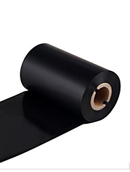 Wax Ribbon 40~110X300M Label Printer Ribbon Printing Coated Paper Ribbon Paper Tube Core